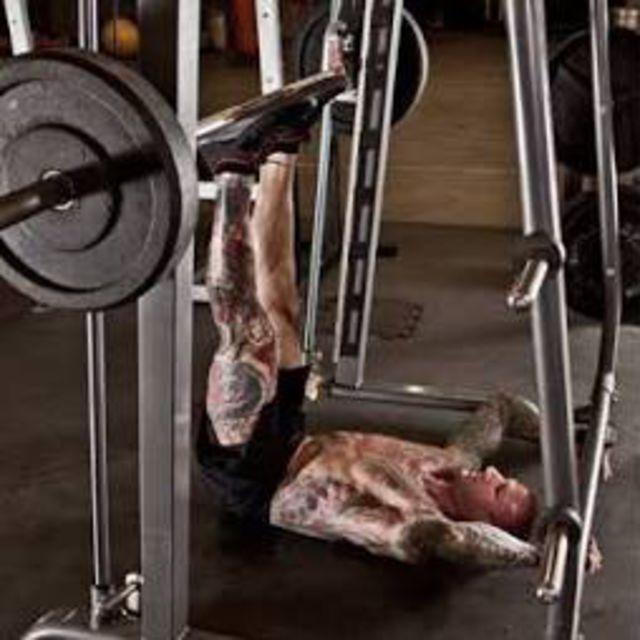 How to do: Smith Machine Hip Raise - Step 1