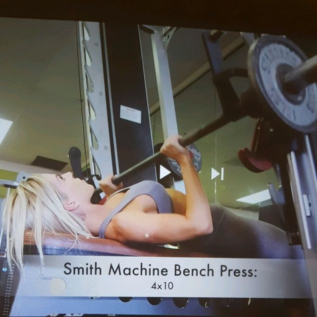 How to do: Machine: Smith Machine Bench Press - Step 1