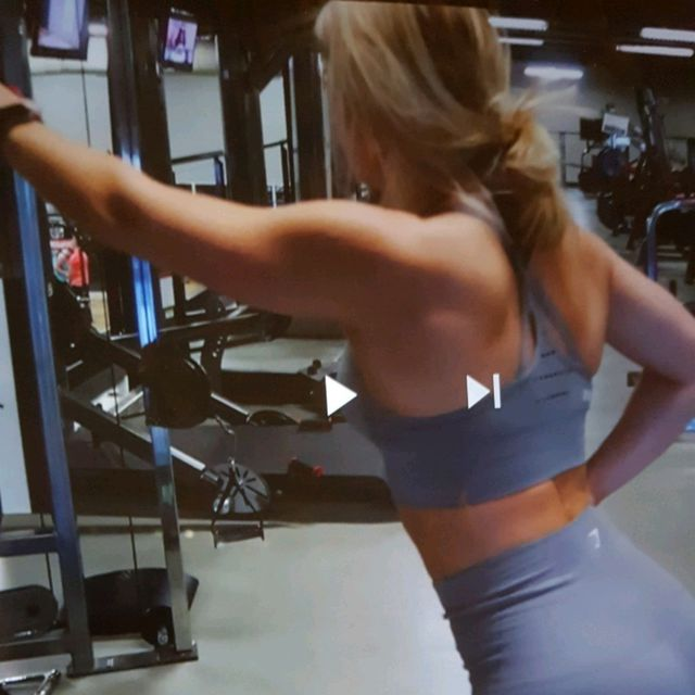 How to do: Machine: Cable Machine Rear Delt Pulldown And Upper Pull - Step 3