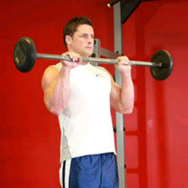 How to do: Reverse Barbell Curl - Step 2