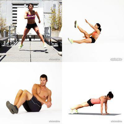 entrenamientos sin pesas
