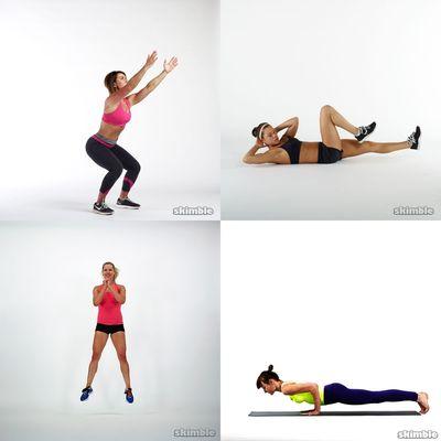 Medium workout (50min)