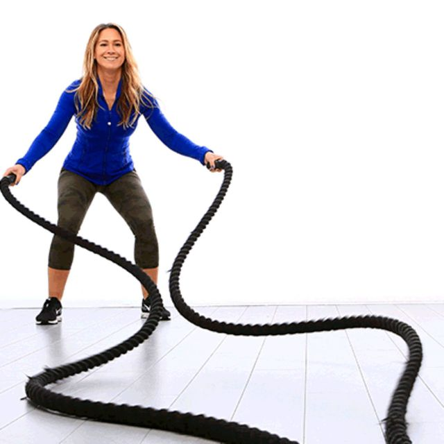 How to do: Battle Rope Snake - Step 1