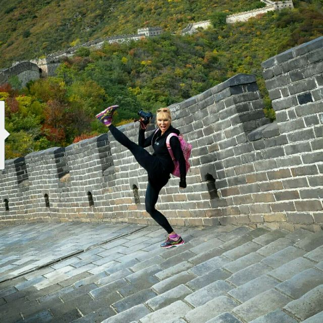 The Great Wall Hike/Run (Glute Sculptor)  HS