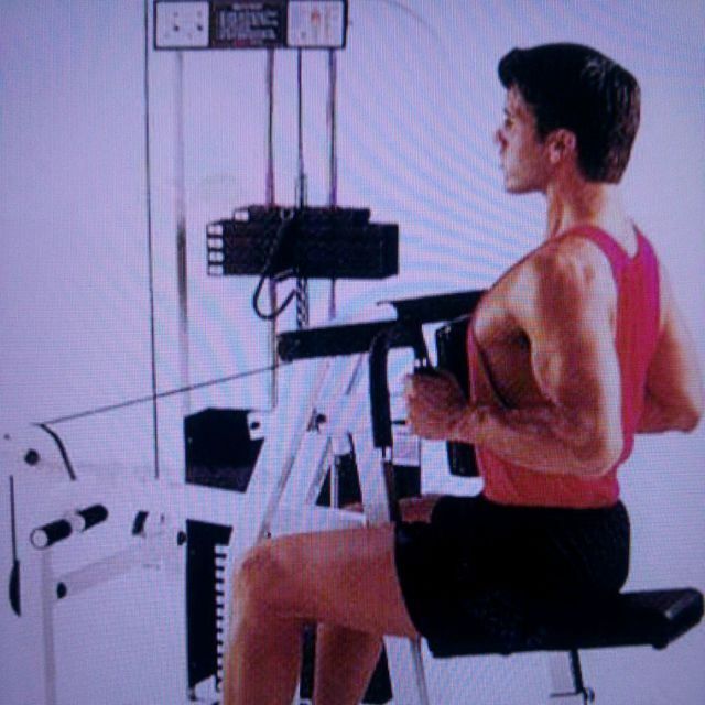 How to do: Chest Supported Row - Step 1