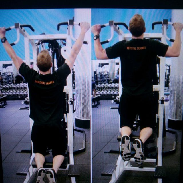 How to do: Assisted Pull Ups - Step 1