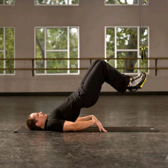 How to do: TRX Hip Press - Step 2