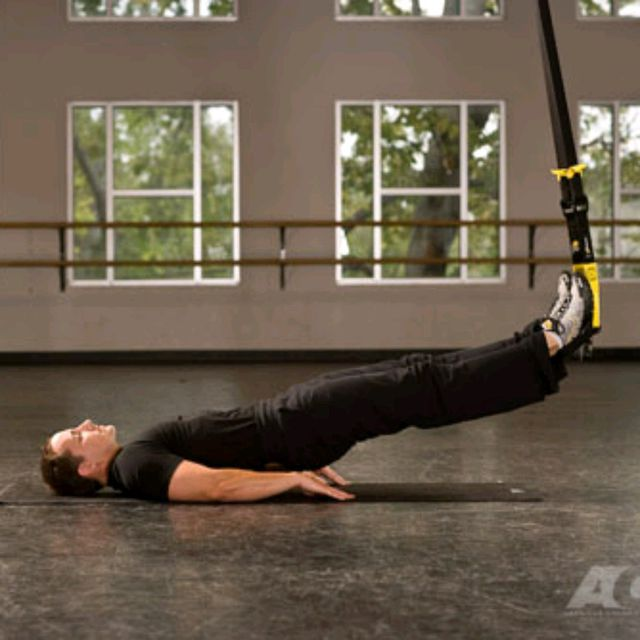 How to do: TRX Hip Press - Step 3