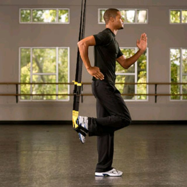 How to do: TRX Suspended Lunge - Step 1