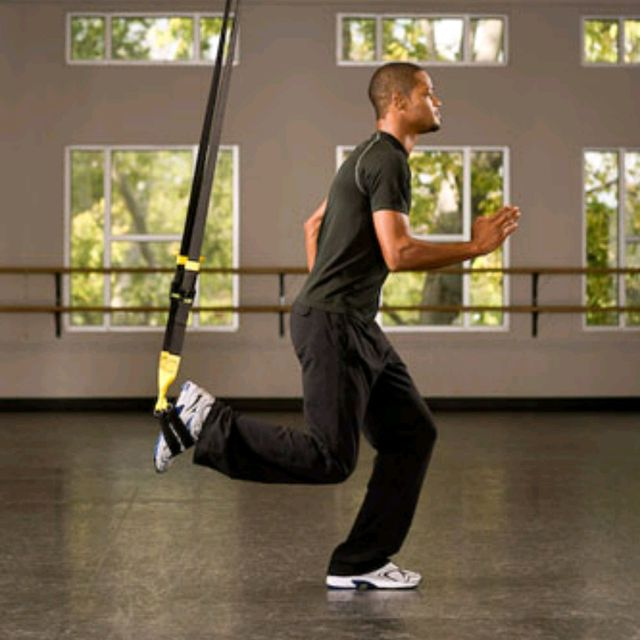 How to do: TRX Suspended Lunge - Step 2