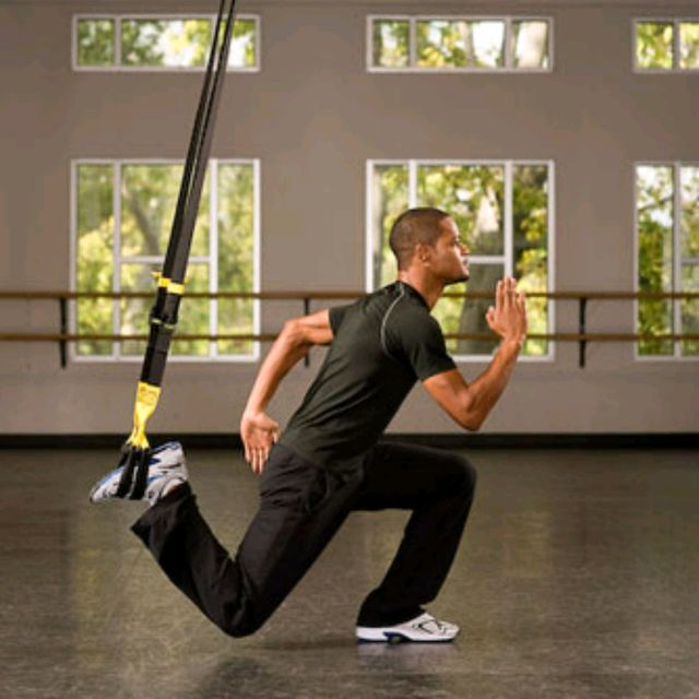 How to do: TRX Suspended Lunge - Step 3