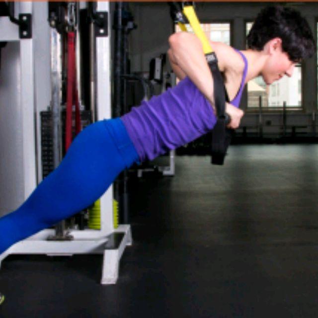 How to do: TRX Chest Press - Step 1
