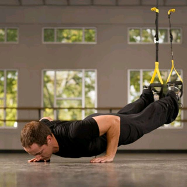 How to do: TRX Push-Up - Step 1