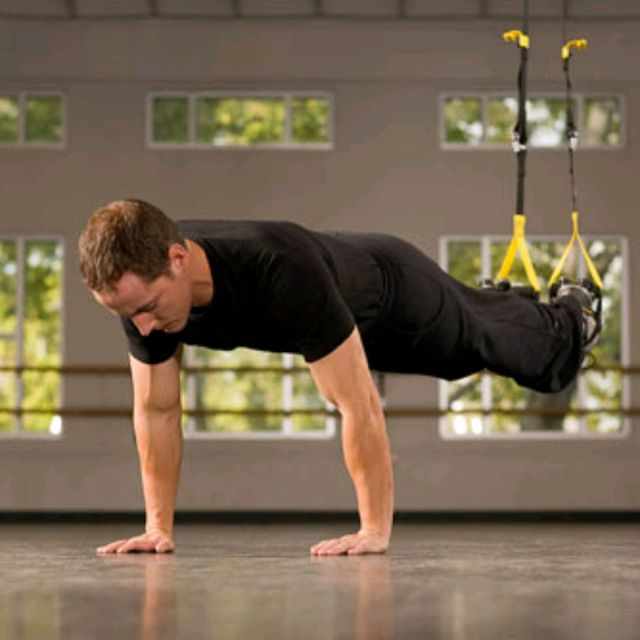 How to do: TRX Push-Up - Step 2