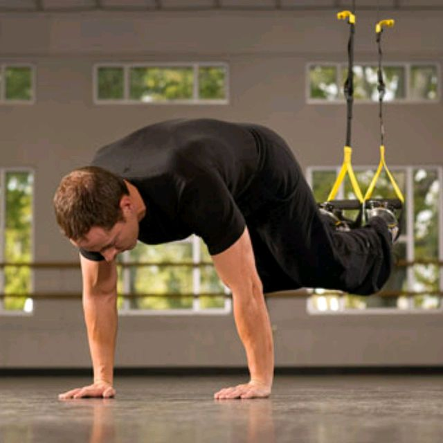 How to do: TRX Suspended Knee Tucks - Step 2