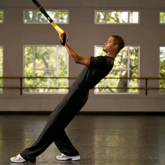How to do: TRX Bicep Curl - Step 2