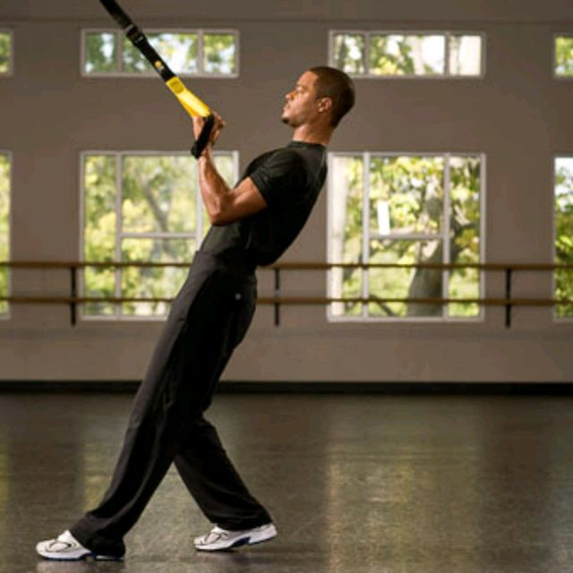 How to do: TRX Bicep Curl - Step 3