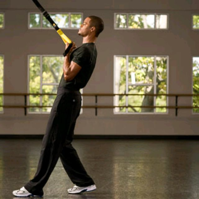 How to do: TRX Bicep Curl - Step 4