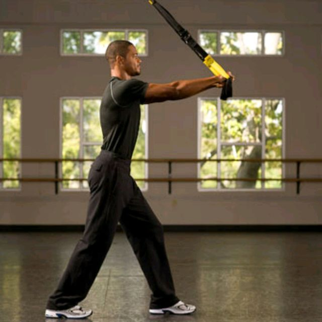 How to do: TRX Overhead Triceps Extension - Step 1