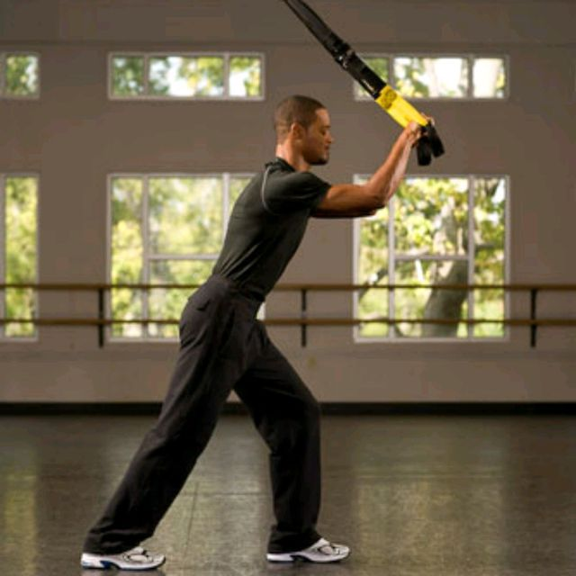How to do: TRX Overhead Triceps Extension - Step 2