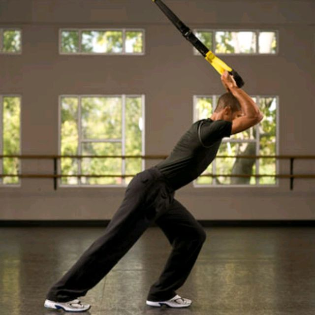 How to do: TRX Overhead Triceps Extension - Step 3