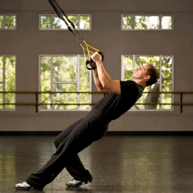 How to do: TRX Low Row - Step 2
