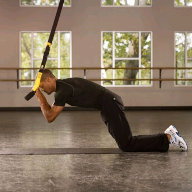 How to do: TRX Front Rollout - Step 3