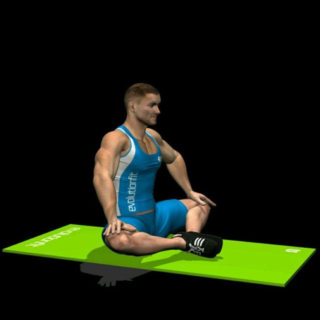 How to do: Abduzione fianchi seduto piedi uniti - Step 1