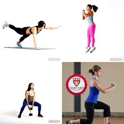 HIIT Circuit With Warm Up & Cool Down