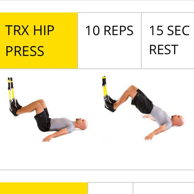 How to do: TRX Hip Press - Step 1