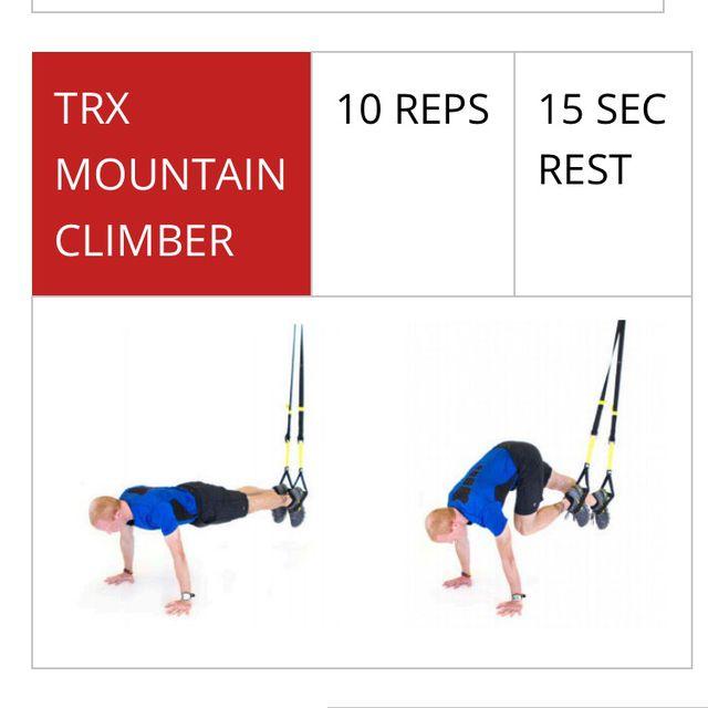 How to do: TRX Mountain Climber - Step 1