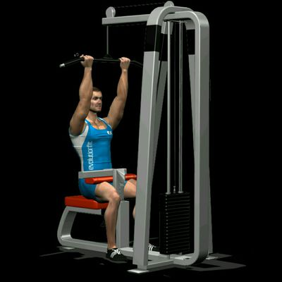 Lat machine inverso
