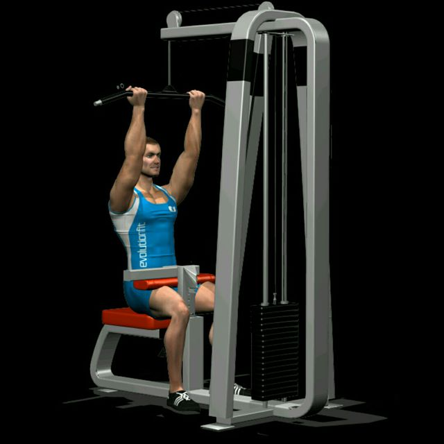 How to do: Lat machine inverso - Step 1