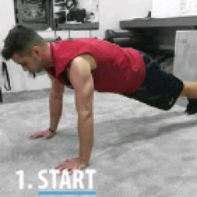 How to do: SPHINX PUSH UPS - Step 1