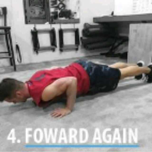How to do: SPHINX PUSH UPS - Step 4