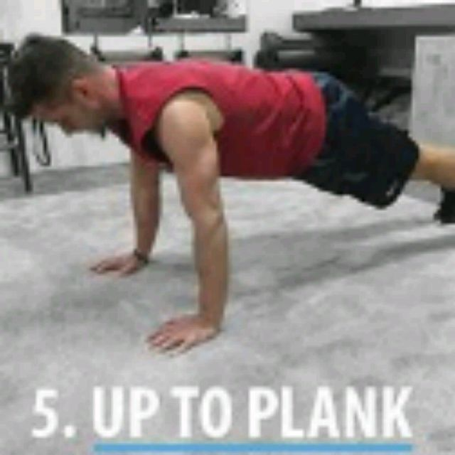 How to do: SPHINX PUSH UPS - Step 5