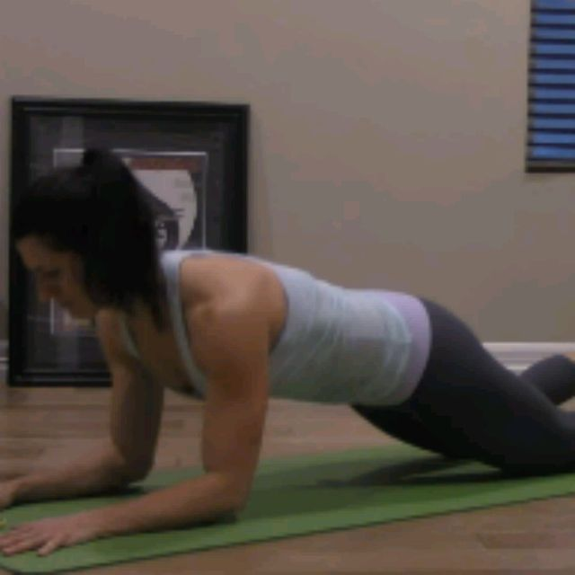 How to do: KNEELING SPHINX PUSH UPS - Step 6