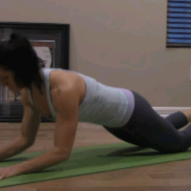 How to do: KNEELING SPHINX PUSH UPS - Step 5
