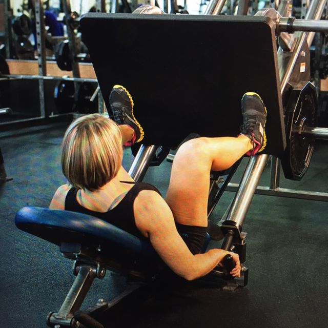 How to do: Wide-stance Leg Press - Step 1