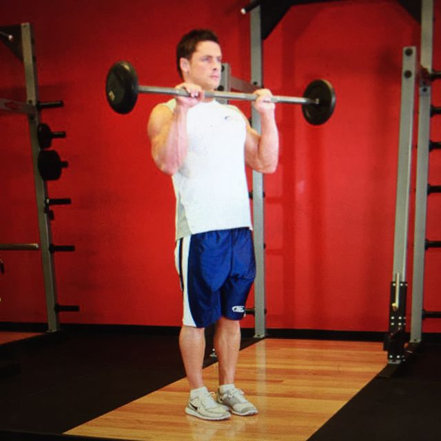 How to do: Reverse Barbell Curls - Step 1