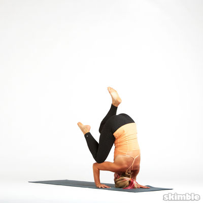 Tripod Headstand Preparation