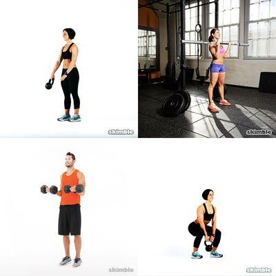 30 mins weights