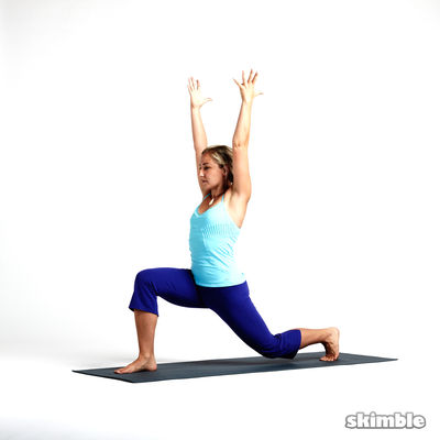 Right Crescent to Low Lunge