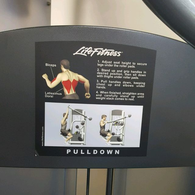 How to do: Lats Pulldown - Step 1