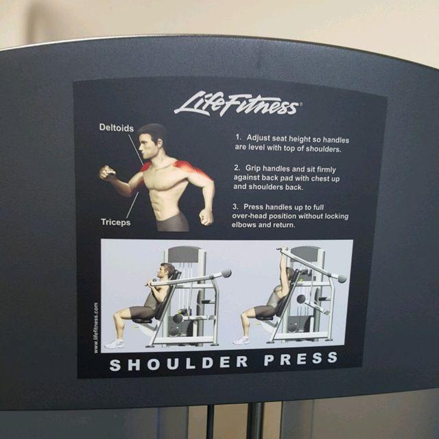 How to do: Shoulder Press - Step 1
