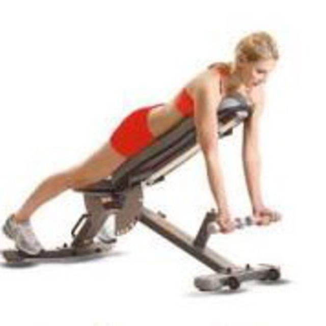 How to do: Incline Reverse Dumbbell Flys - Step 1