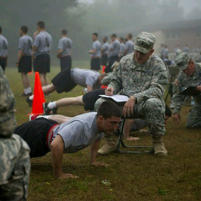 15 Weeks To APFT Day 1