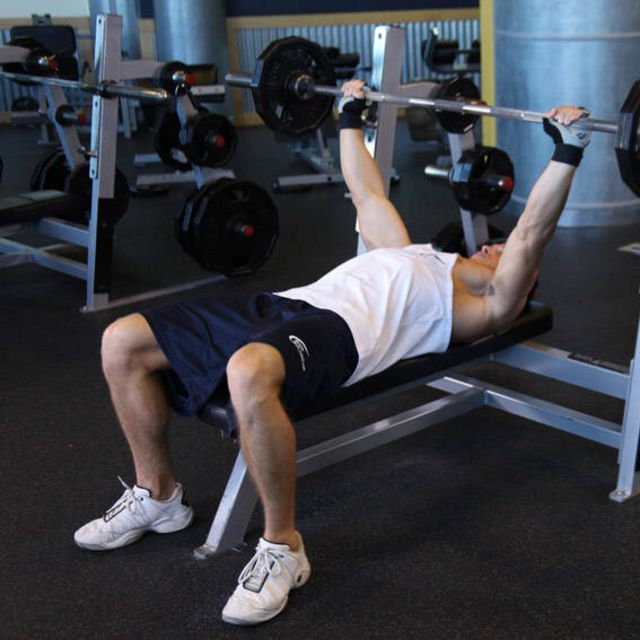 How to do: Wide Grip Bench Press - Step 1