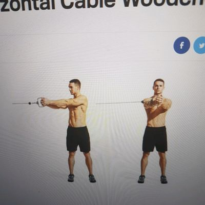 Horizontal Cable Woodchop