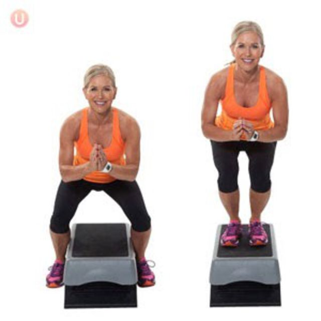 How to do: Bench Straddlers - Step 1